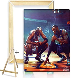 Painting by Numbers for Adults - TUMOVO Black Mamba Color by Number, Professional Basketball Player Paint by Numbers for A...
