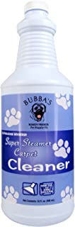 Bubbas Super Strength Concentrate Pet Odor Eliminator Carpet Shampoo Solution | Odor and Stain Remover Pet Carpet Cleaner | Urine Odor Remover Enzyme Cleaner for Cat Urine and Dog Pee Stains and Odors