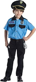 Police Chief Role Play Set Costume for Kids