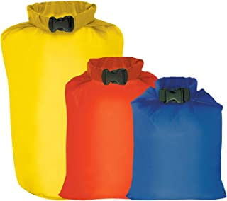 Outdoor Products 3-Pack All Purpose Dry Sack, One Size, Assorted, Model:195EC-000