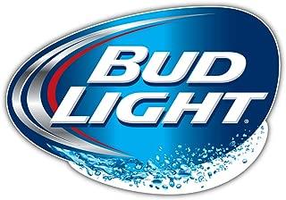 bud light logo decals