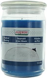 Krispy Kreme Scented Jar Candle (16 oz) (Powdered Blueberry)
