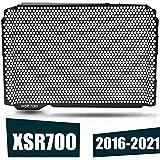 YIEBA Cubierta Protectora de Rejilla del Radiador Adecuada para Protector de Radiador Yamaha XSR700 2016-2021 (Negro)