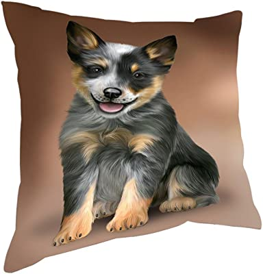 Amazon.com: Cojín Co – Chihuahua Long Haired Shaped almohada ...