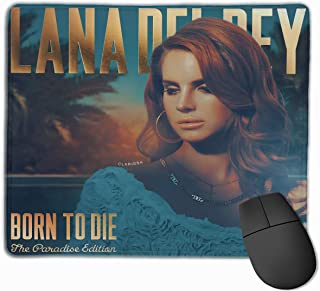Lana Del Rey Unique Design Personalized Mouse Pad Gives You A New Feel to The Games 12 x 9.8 x 0.2 inch