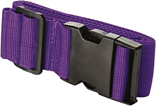 TRADERPLUS Luggage Straps Suitcase Belts Travel Bag Accessories (Purple)