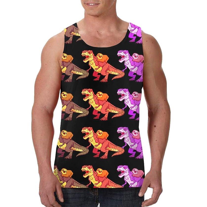 LIN. Men Boys Sleeveless Vest Shirts Summer Tank Shirts Beachwear - Sweatproof