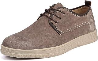 c4c9dc7d1ab0e4 Easy Go Shopping Chaussures pour Hommes en Cuir Oxford à Bout Rond en Cuir  PU de