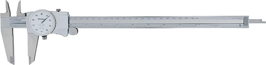 Mitutoyo 505-746 Dial Caliper, 0.1