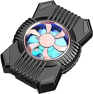 Enkomy Telefonkylning fläkt, bärbar mini spelkylare med två hastigheter mobiltelefon kylare batteri bakklämma