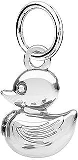 Eurojewelry A34B Charm en argent sterling 925 Motif canard