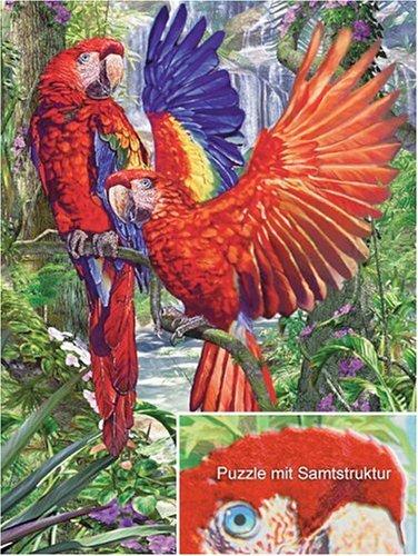 Ravensburger 16035 - Exotische Farbenpracht, 1000 Teile Flokati Puzzle
