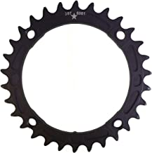 USAmade 104BCD 30T Narrow Wide Alloy Black Mountain Chainring CONTROL 2016 Collection- NEW