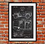 Willys Jeep Print Willys Jeep Poster Willys Jeep Art Willys Jeep Breveté Willys Jeep Blueprint Willys Jeep Décoration murale p1174