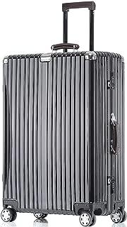 Kroeus Carry Case Suitcase Luggage TSA Lock Travel Business Trip 29 Inch Black