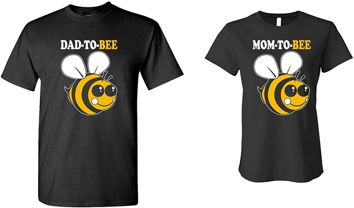 The Goozler MOM and DAD to BEE - HIS & HER T-Shirt Combo
