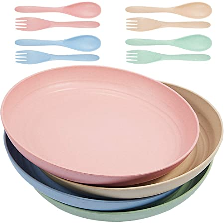 Parboom Wheat Straw Plates