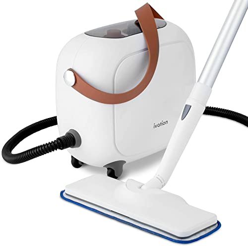 high quality Ivation All in One Household Steam Cleaner with 17 Accessories, outlet online sale Multi-Purpose Chemical-Free Cleaning and Sanitizing System for Floor, Bed Bugs, Clothes, Ovens, Curtains sale and Carpet online