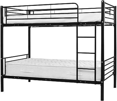 Amazon Com Twin Workstation Loft Bed Black Kitchen Dining