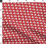 Rot, Eisbär, Eisbären, Schnee, Schneeflocke,