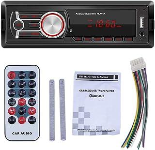Iycorish 1DIN in-Dash Car Radios Stereo Remote Control Digital Audio Music Stereo 12V Car Radio Mp3 Player USB//AUX