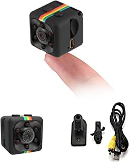 Fstop Labs CloverTale Mini Hidden Spy Camera Night Vision 1080P HD Video Recorder Portable Tiny with Night Vision and Moti...