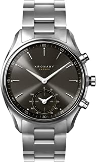 Kronaby Sekel Quartz Watch, Grey, 43mm, 10 atm, Connected Watch