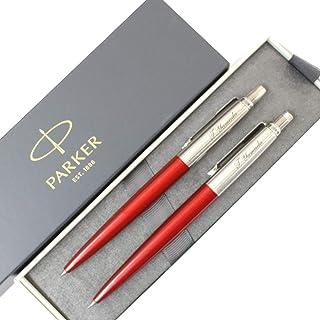 名入れ ボールペン&シャープペン 2本セット パーカー ジョッター コアライン レッドCT PARKER
