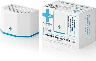 クロニタス 置き型ボックス 無香料(ウイルス除去・除菌・消臭 持続期間約3ヶ月(ジェルの持続期間は約1ヶ月)