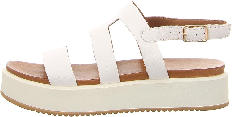Inuovo Inuovo Damen Sandaletten 8747 Weiß Weiß 488760  großer Rabatt