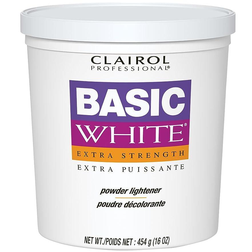 割り当てる大騒ぎ容量Clairol Professional - Basic White - Extra Strength - Powder Lightener - 16 oz / 454 g