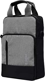 Scioltoo Multi-function Shoulder Bag Grey Business Laptop Bag Can expand capacity Casual outdoor cross body bag