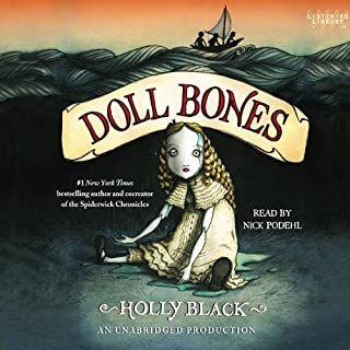Doll Bones audiobook cover art