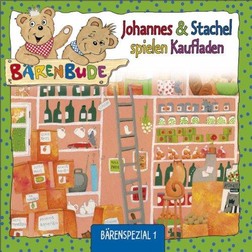 Johannes und Stachel spielen Kaufladen Bärenspezial 1