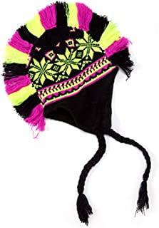 Toddler Kids Children's Crochet Mohawk Knitted Beanie Hats