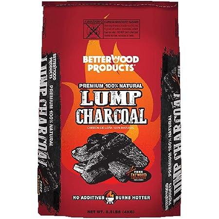 Betterwood Products Hardwood Lump Charcoal - 8.8 LB