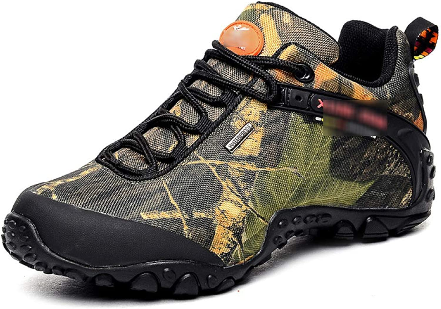 Tactical Boots Spring And Autumn Low Help Camouflage Outdoor Mountaineering Military Boots Hiking Wear Couple shoes