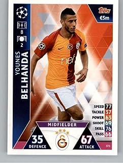 2018-19 Topps UEFA Champions League Match Attax #373 Younes Belhanda Galatasaray S.K. Official Futbol Soccer Card