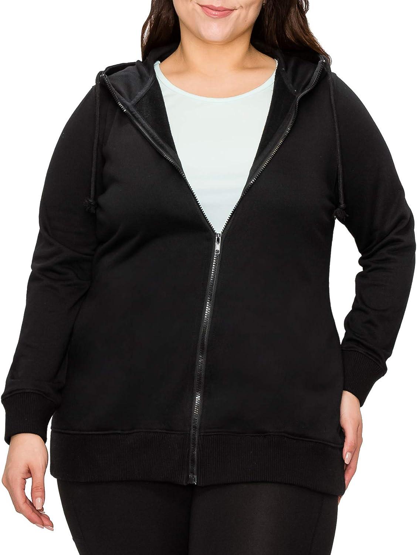 Womens Plus Size Active Fleece Pullover Sweatshirt