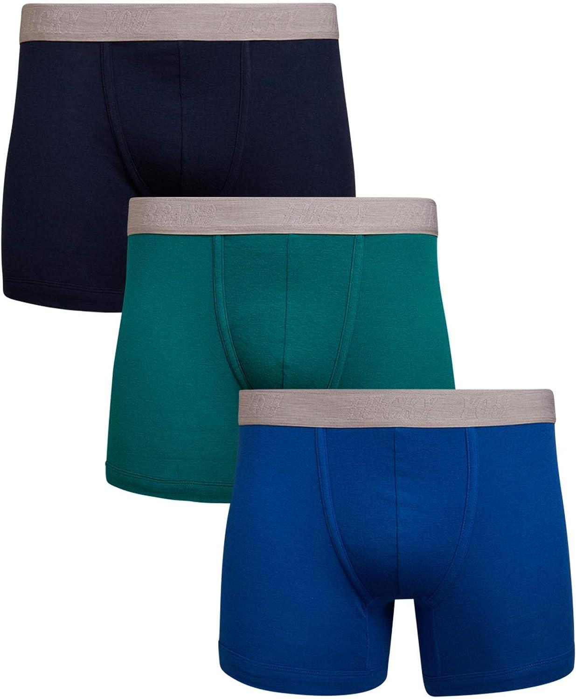 Lucky Brand Men's Super Soft Boxer Briefs (3 Pack)