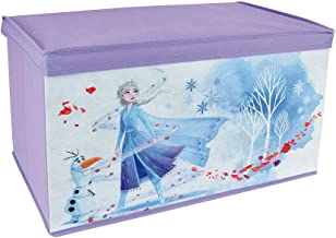 Fun House 713188 Disney Frozen - Baúl Plegable para Juguetes, Color Morado