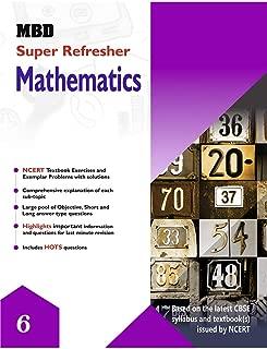 MBD SUPER REFRESHER MATHEMATICS - VI (CBSE) (E)