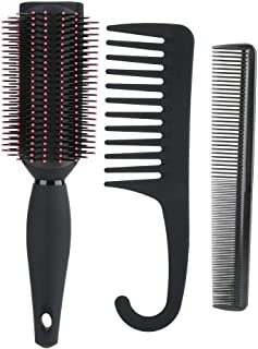 【2021 New Year's Special】Durable Wide Tooth Comb, Anti-Static Hairdressing Hair Comb, Styling Tools Home for Professional ...