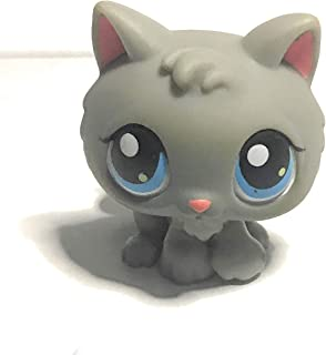 Kitten #66 (Blue Eyes) - Littlest Pet Shop (Retired) Collector Toy - LPS Collectible Replacement Single Figure - Loose (OOP Out of Package & Print)