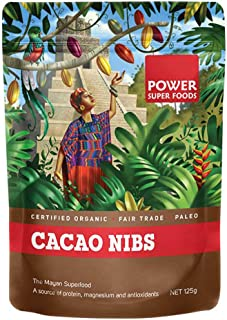 Power Superfoods Cacao Nibs, 125 g