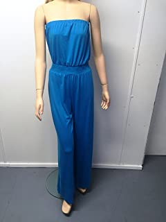 MOSSIMO, MSC Strapless Jumpsuit Hawaiian Blue, M,L,XL,XXL