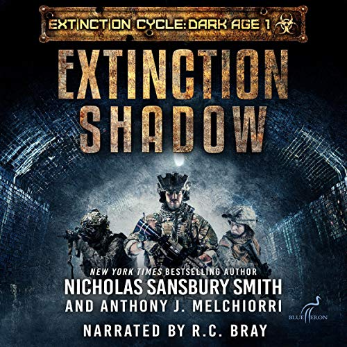 Extinction Shadow audiobook cover art