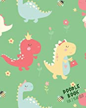 Doodle Book For 2 Year Old: Blank Doodle Draw Sketch Book
