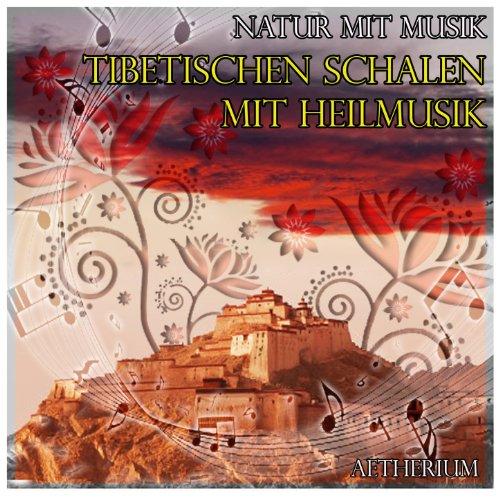Natur mit Musik: tibetischen Schalen mit Heilmusik