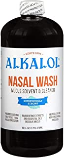 Alkalol Company - Alkalol Mucus Solvent and Cleaner - 16 oz. (Pack of 2) by Alkalol Company